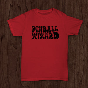Limited Edition Pinball Wizard T-Shirt - Antique Cherry Red