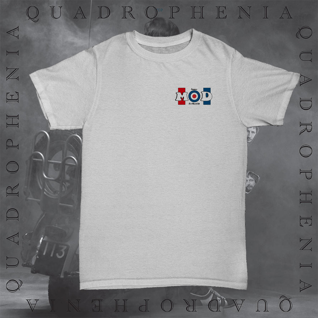 Forever A Mod T-Shirt - White