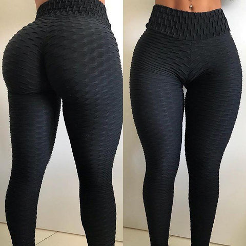 Sports anti cellulite peach lift leggings is so soft