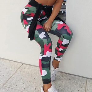 Adorbs Camo Printed Leggings