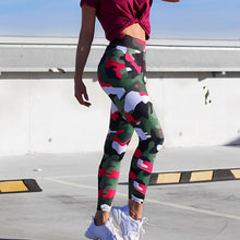 Load image into Gallery viewer, Adorbs Camo Printed Leggings