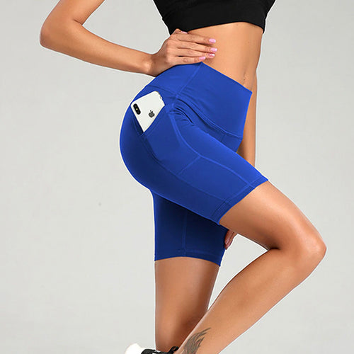 Seamless Pocket Biker Shorts