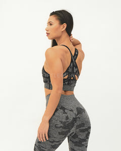 Camo Seamless<br>Sports Bra