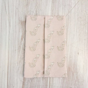 Little Swan Princess Wet Wipe Pouch Cover
