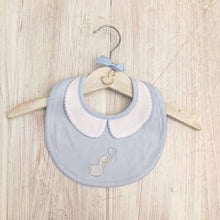 Load image into Gallery viewer, Little Swan Prince Peter Pan Collar Bib
