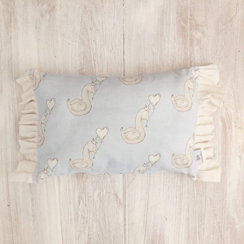 Little Swan Prince Rectangular Ruffle Cushion