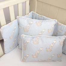 Load image into Gallery viewer, Little Swan Prince Cot Bumper