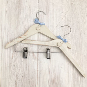 Baby and Children's Coat Hanger | Little Swan | Hand Painted | Shabby Chic | Nursery Decor | Christening Gift | Baby Gift | Nursery Decor