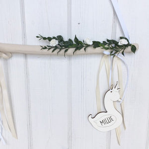Oatmeal Branch Decorative Wall Hanging Decor