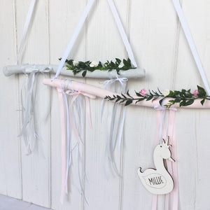 Pink Branch Decorative Wall Hanging Decor