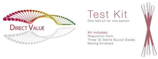 Genetic Test Kit (MTHFR & APOE Combo)