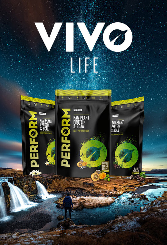 Vivo Life PERFORM vegan organic protein powder