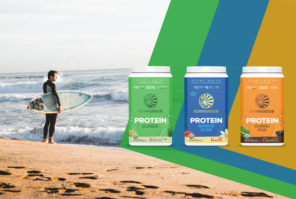 Sunwarrior plant-based protein & supplements