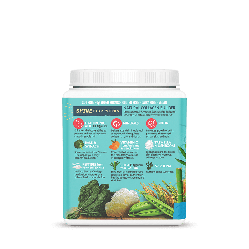 Sunwarrior Collagen Building Peptides ingredients