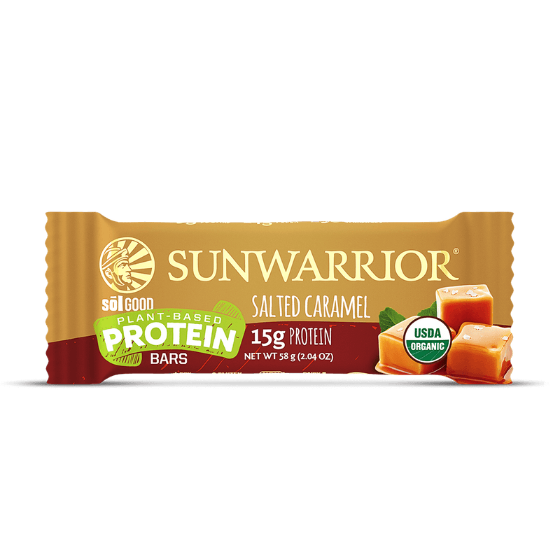 Salted Caramel single protein bar