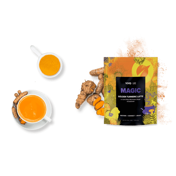 Vivo Life MAGIC - GOLDEN TURMERIC LATTE ingredients