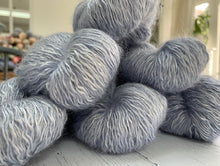 Whitmoor Sweater Kits - 4 Ply plus fluff in Married in Jeans