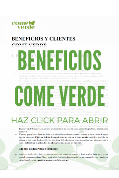 BENEFICIOS CV