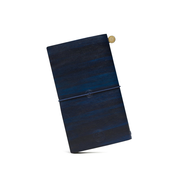 Brass Deep Blue Patina