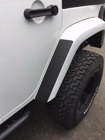 Fender Stone Guard Adhesive Decals for Jeep Wrangler (x2)