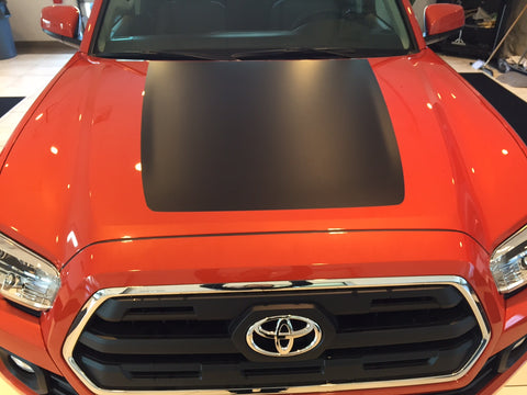Toyota Tacoma 2016 Hood Blackout Insert Decal