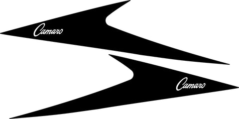 Vintage (60's) Side Sail Panel Decals for 2010-2021 Chevrolet Camaro