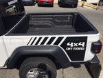 4x4 Off Road Quarter Stripe Decal Graphic For 2020 JEEP Gladiator