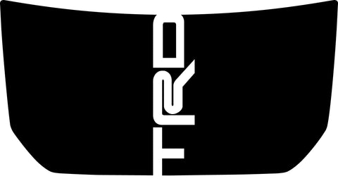 "Hood ""TRD"" Center Decal Cover for 2007-2020 Toyota FJ Cruiser"