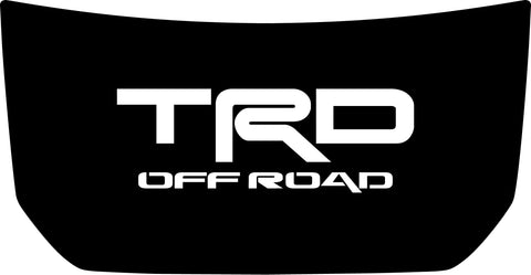 "Hood ""TRD Off Road"" Center Decal Cover for 2007-2020 Toyota FJ Cruiser"