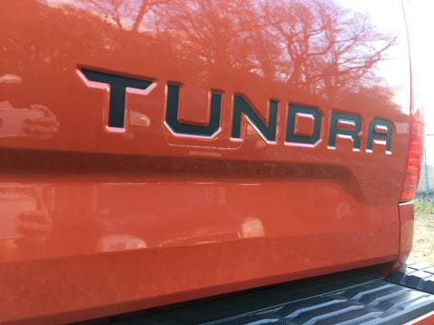 Tailgate Decal for 2014-2021 Toyota Tundra