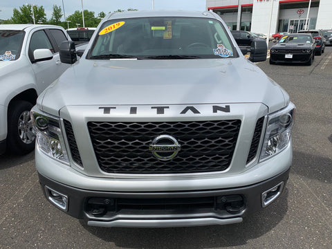 Hood Decal Inserts for 2017-2020 Nissan Titan