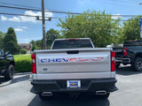 American Flag Truck Tailgate Word Inserts for 2019 - 2020 Chevrolet Silverado