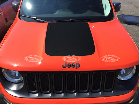 Jeep Renegade 2015 Front Hood Decal