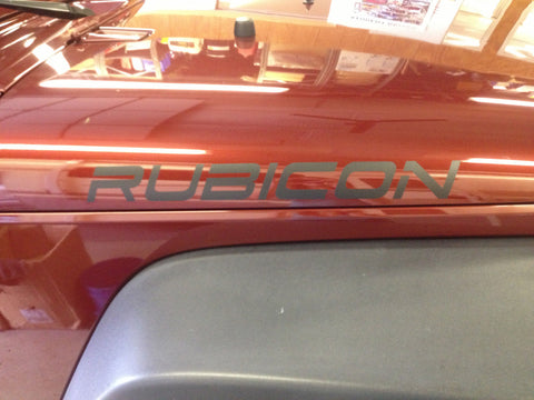 Jeep Wrangler Rubicon Set of 2 Decals