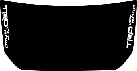 "Hood ""TRD Off Road"" Side Decal Cover for 2007-2020 Toyota FJ Cruiser"