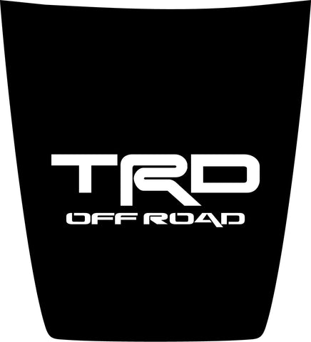 "Hood ""TRD Off Road"" Center Decal Cover for 2016-2021 Toyota Tacoma"