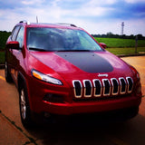 Jeep Cherokee Trailhawk 2014 Hood Decal