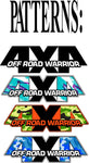 4x4 Off Road WARRIOR Decal Stickers (x2) [PICK 1 PATTERN]