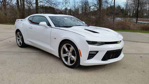 Chevrolet Camaro 2016 Side Stripe Body Line Decal Kit