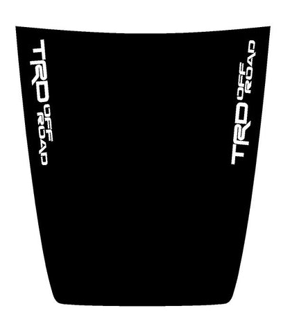 "Hood ""TRD Off Road"" Side Decal Cover for 2016-2021 Toyota Tacoma"
