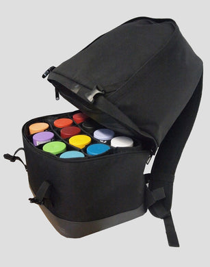 Burner Backpack 12+12 can capactity