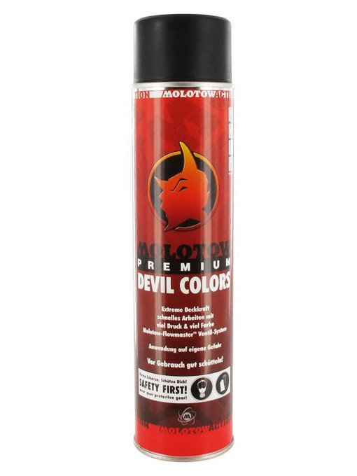 Devils Colors Black 600ml