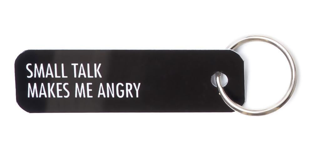 Bey Key Holder: Small Talk Makes Me Angry