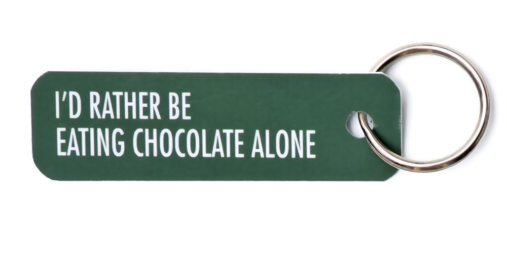 Bey Key Holder: I'd Rather Be Eating Chocolate Alone