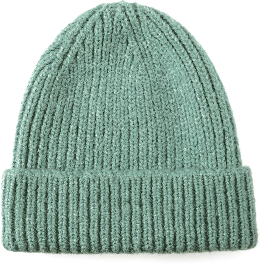 Bey Wool Beanie Light Green