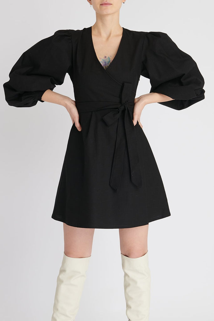 Marcelia Dress in Black
