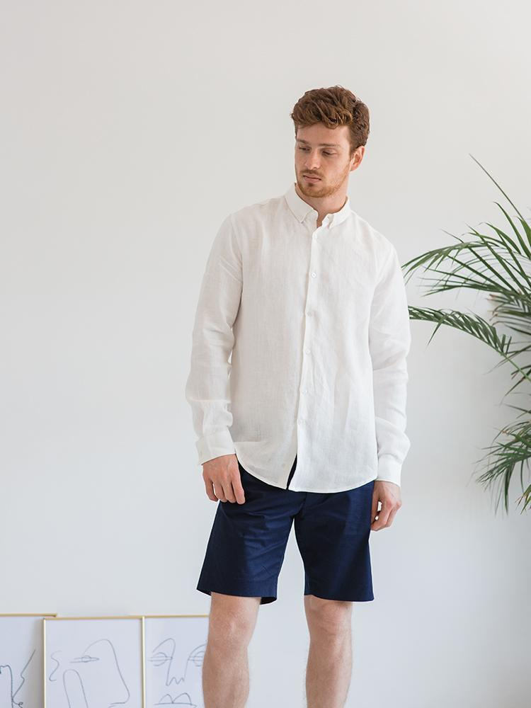 Mr. High Clouds Linen Shirt