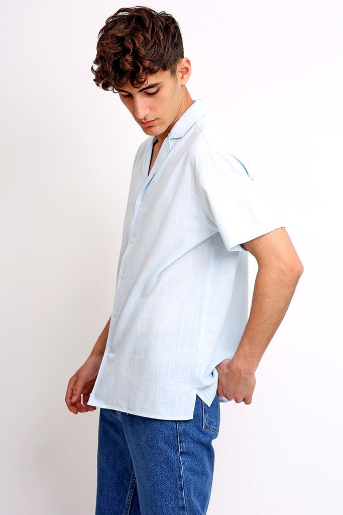 Mr. Ultramarine Cotton Shirt
