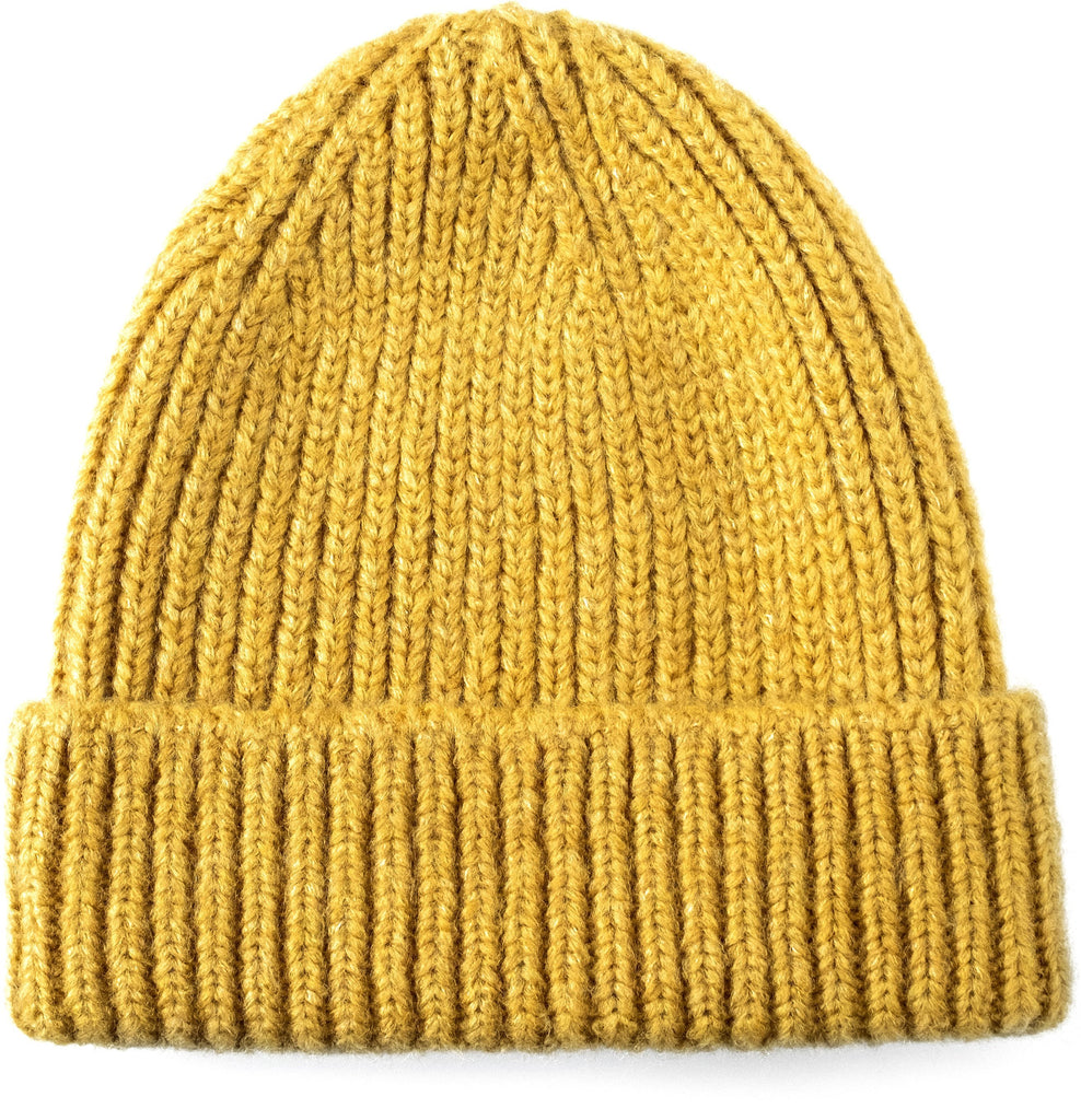 Bey Wool Beanie Yellow