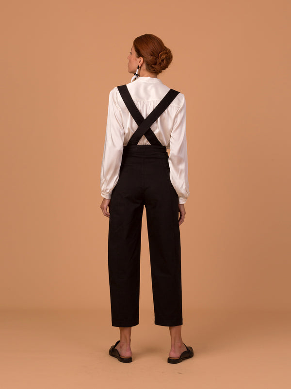 A Hidden Bee Adjustable Strap Balloon Trousers